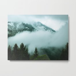 ALPINE MOUNTAINS Metal Print