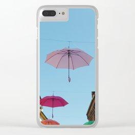 Umbrellas of Ferrara Clear iPhone Case