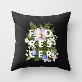 Florescer Throw Pillow