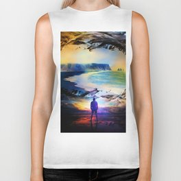 Edge Of Time Biker Tank