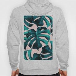 Tropical Monstera Leaves Dream #7 #tropical #decor #art #society6 Hoody