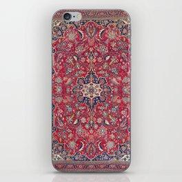 Bijar Kurdish Northwest Persian Rug Print iPhone Skin