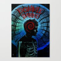donnie darko Canvas Prints featuring Donnie Darko  by Dan K Norris
