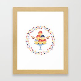 Muffins Framed Art Print