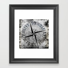 Never Fade - Don't Forget Framed Art Print