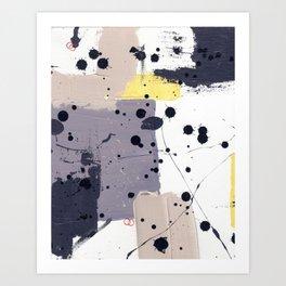 Purple Mattress Art Print