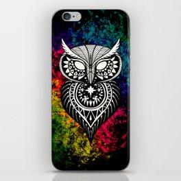 Tribal Owl iPhone Skin