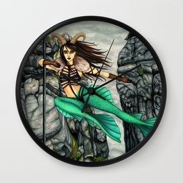 Pole Stars - CAPRICORN Wall Clock