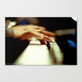 Piano Man Canvas Print