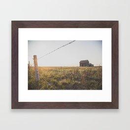 Abandoned South Dakota 7838 Framed Art Print