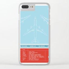 America aviation Clear iPhone Case
