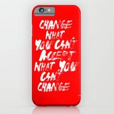 Accept / Change iPhone 6 Slim Case