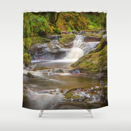 Glenariff Falls Shower Curtain