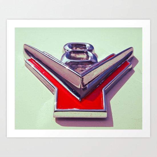 V8 Art Print