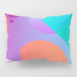 Abstract Lava Lamp Pillow Sham
