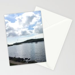 Sailboats in the Sun Stationery Cards
