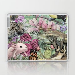 Flora and Fauna of Mexico Laptop & iPad Skin