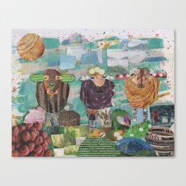 Three Wanderers Canvas Print