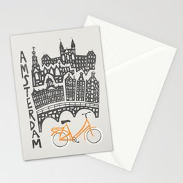 Amsterdam Cityscape Stationery Cards