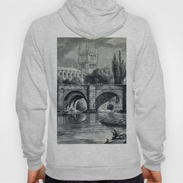 Cathedrals, abbeys and churches of England and Wales Hoody