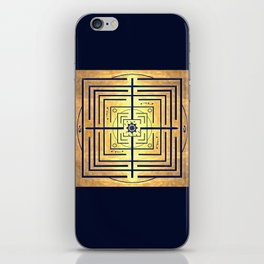 Knowledge Labyrinth iPhone Skin