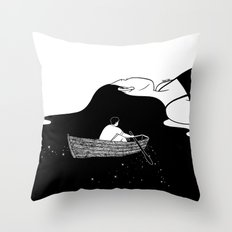 Rowing to you Throw Pillow