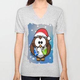 Christmasowl Unisex V-Neck