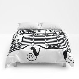 Stupid Cats 1 Comforters