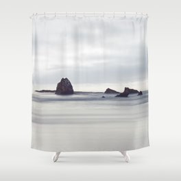 Sea rocks Shower Curtain