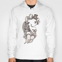 burlesque Hoodies featuring Chubby Burlesque by Sabrina Eras