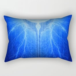Vikings Valkyrie Wings of Protection Storm Rectangular Pillow
