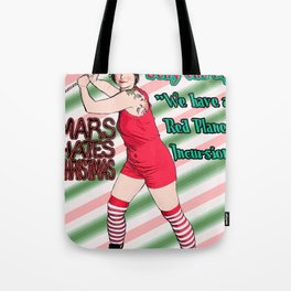 Mars Hates Christmas - Jelly Incursion Tote Bag
