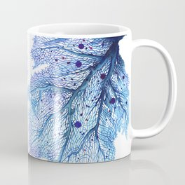 Fan Coral - Blue Coffee Mug