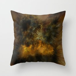 Visions in the Soul Throw Pillow