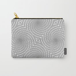 Repeating Mandala Carry-All Pouch