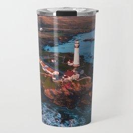 Pigeon Point Lighthouse, California Travel Mug