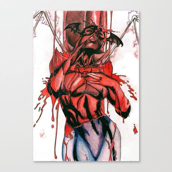Bleez Coloured Canvas Print