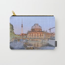Berlin Spree Bode Museum and Alexander tower Carry-All Pouch