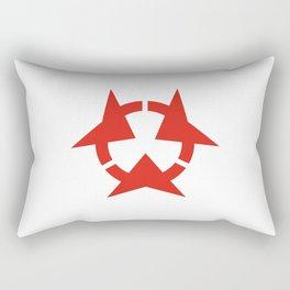 oita region flag japan prefecture Rectangular Pillow