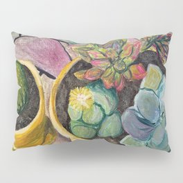 Cacti & Succulent Pots Pillow Sham