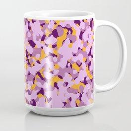 Purple Orange Camouflage Coffee Mug