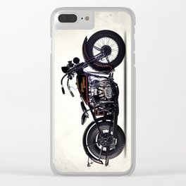 The 1930 Harley Model V Clear iPhone Case