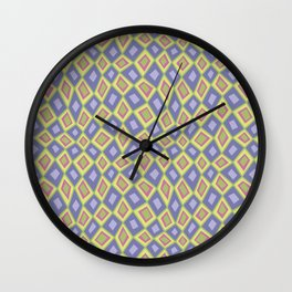 Diamonds are Forever-Fairytale Colors Wall Clock