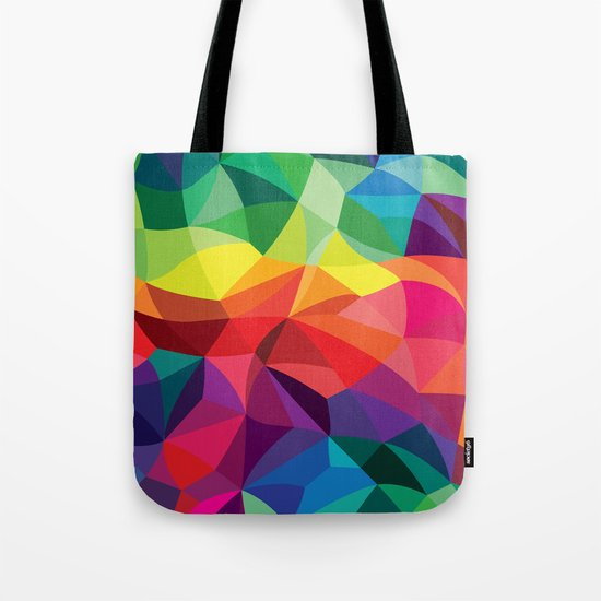 Color Shards Tote Bag