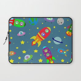 Rockets to the moon Laptop Sleeve