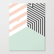 Mint Room #society6 #decor #buyart Canvas Print