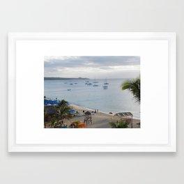 cabo san lucas Framed Art Print
