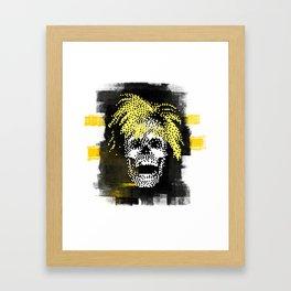 Andy POSTportrait Framed Art Print