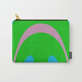 Upside Down Smile Carry-All Pouch