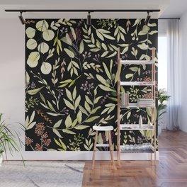 Eucalyptus in Autumn Wall Mural